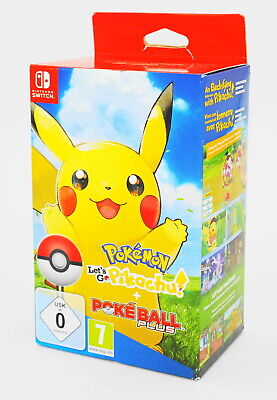 Pokémon: Let s Go, Pikachu! + Pokéball Plus Nintendo Switch - NEU & OVP