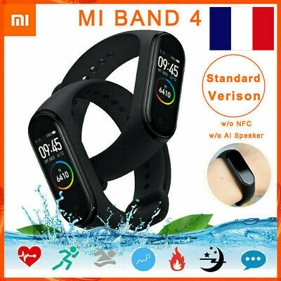 Xiaomi Mi Band 4 Smart Montre Bracelet Fitness Tracker d'activité Android et iOS