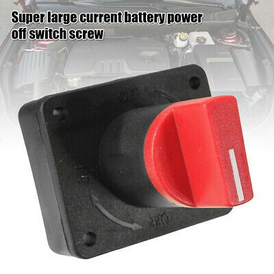 Battery Isolator Master Disconnect Power Cut Off Kill Switch Motorcycle Car Boat