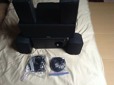 Bose acoustimass 10 series ll home cinema system with upgrade speakers complete