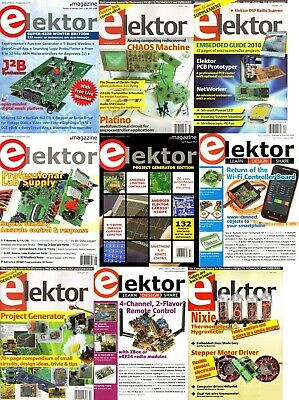 Elektor Electronics Magazine's 1974-2019 HUGE Archive (2 DVDs) 400+ Issues Pdf's