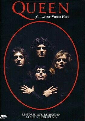 Queen: Greatest Video Hits (2 Disc) DVD NEW