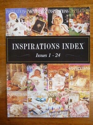 Inspirations Magazine Index - Issues 1-24 - As New