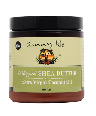 Sunny Isle Jamaican Black Castor Oil Whiped Shea Butter Extra Virgin Coconut Oil