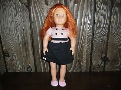 "Our Generation Battat 18"" Doll Red Hair/Blue Eyes"