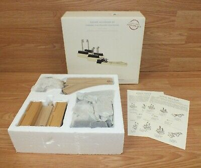 Pottery Barn Kids Electric Accessory Train Kit Add-On Set in Box **NEW - READ**