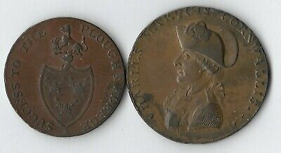 Coins - Cornwallis And Commerce Late 18th Century Extremely Fine (Y2)