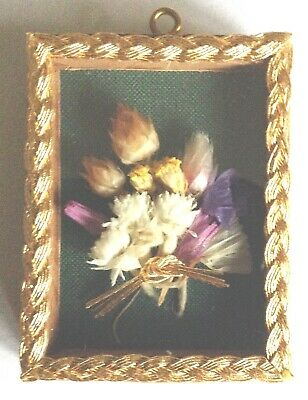 Victorian Style Miniature Picture Kit, Makes 5 Pictures Using Goldwork Materials