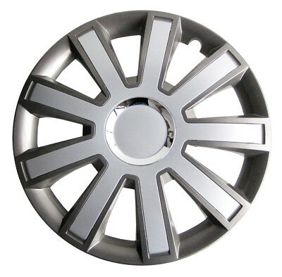 Outlet#13    15'' Wheel trims hubcaps silver/graphite 15''