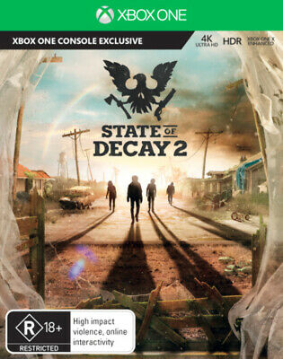 State of Decay 2 Xbox One Game NEW