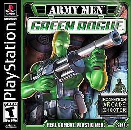 SONY PS2 VIDEO game BACKWARD COMPATIBLE w/ PS3 ARMY MEN