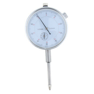 Precision Dial Test Indicator w/Pointer,0-30mm Metric reading