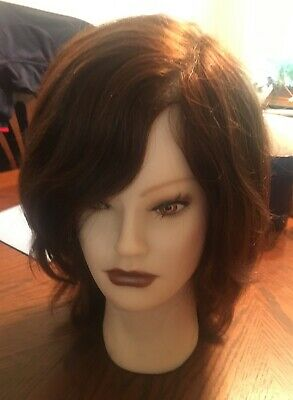 "CLIC INTERNATIONAL MANNEQUIN HEAD HAIR DE SILK ""Tiffany"" SC3203B"