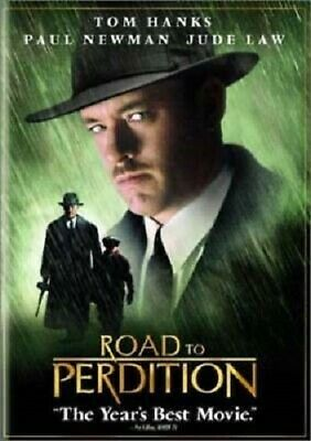Road to Perdition (DVD, 2003, Widescreen) Tom Hanks, Paul Newman