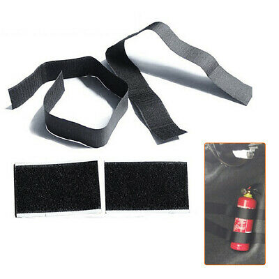 4x Nylon Safety Car Trunk Bag Magic Buckle Bandage Tape Fire Extinguisher Holder