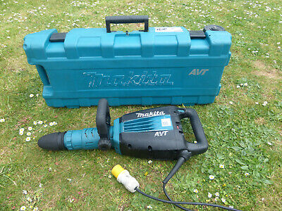Makita Hm1214C Avt 110V Heavy Duty Concrete Breaker Demolition Tool Sds Avt