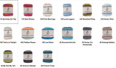 Yarn Bee Cotton XXL Yarn Various Colors New Free Shipping /& Volume Discounts!