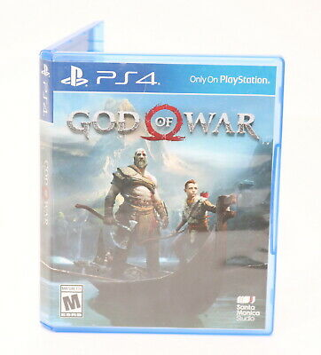 God of War (Sony PlayStation 4, 2018) Video Game