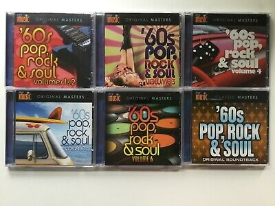 My Music Original Masters 60s Pop, Rock & Soul Vol 1 2 3 4 5 6 & Orig Soundtrack