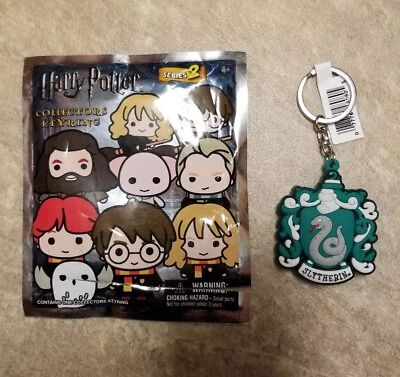 Harry Potter Collectors Figural Keyring Series 2 Exclusive B Slytherin Crest