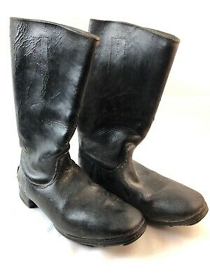 WWII WW2 German Boots,Original,Army,Leather,Wehrmacht,Officer,Jack,Soldier,Heer