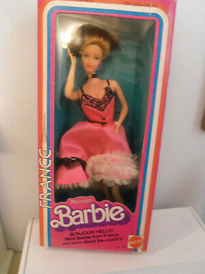 "Barbie""  France"" Doll 1979  Dolls of the World Collection"