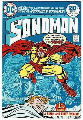 Sandman 1 3 4 5 6 Bronze Age DC Lot 1st B A Jack Kirby Wally Wood 5.0 to 7.5