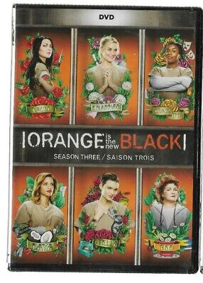 New Sealed DVD TV Series - ORANGE IS THE NEW BLACK - SEASON 3