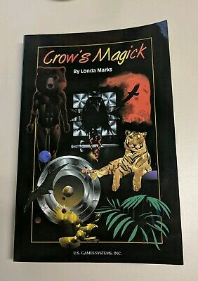 Crow's Magick Companion Book By Londa Marks. Brand New. Never Been Used. Rare &