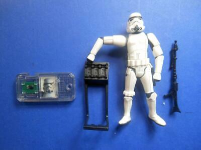 Star Wars Power of the Force Stormtrooper Commtech Battle Damage Battle Rifle