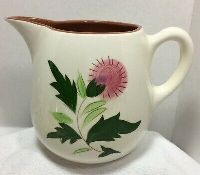 Stangl Pottery Thistle Design Pitcher 40 ounces