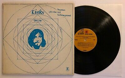 The Kinks - Lola Versus Powerman And The Moneyground - 1970 US 1st Press VG++