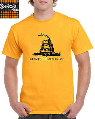 "MENS SHIRT ""Don't Tread On Me"" (Gadsden Flag) T-Shirt"