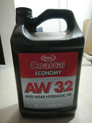 Warren Coastal AW 32 Anti Wear Hydraulic fluid, 1 Gallon sealed jug