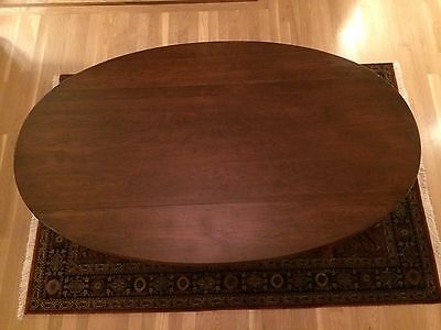 Large Vintage Queen Anne Wood Drop Leaf Coffee Table ~ Pennsylvania House