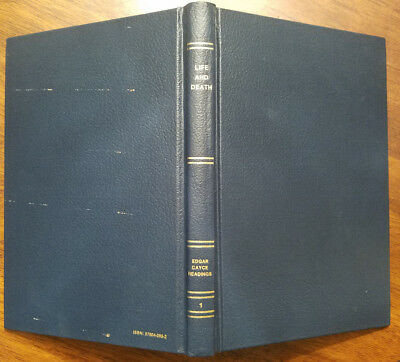 LIFE AND DEATH - Edgar Cayce Readings volume 1, HC, 1989, Psychic,  Clairvoyant