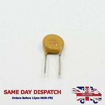 Resettable Fuse 250V 0.18A PTC Polyswitch Polyfuse Radial TRF250-180 GP250 180mA
