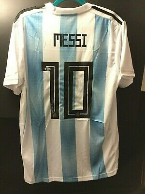 741aee92e LIONEL MESSI SIGNED Autographed Argentina Jersey Inscribed