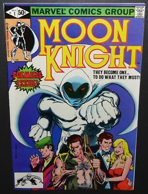 Moon Knight #1 1980 9.2-9.4 (NM-) 1st issue; Origin story; Future Movie!