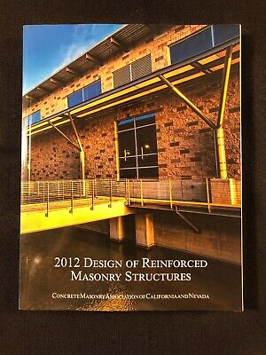 2012 Design of Reinforced Masonry Structures