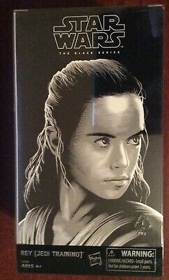 Star Wars Black Series Luke & Rey Exclusive Hasbro SDCC 2017 Last Jedi Sealed