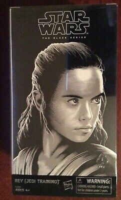 Star Wars Last Jedi Black Series Luke & Rey Exclusive Hasbro SDCC 2017 Sealed