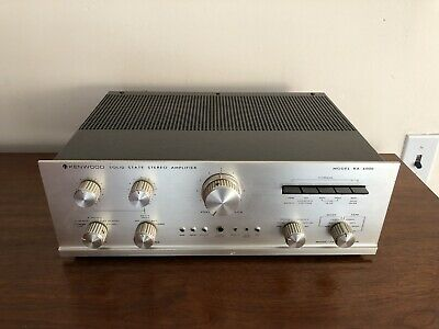 RARE Vintage Kenwood KA-6000 SolId State Stereo Integrated Amplifier PHONO 1137