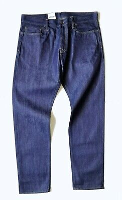 CARHARTT WIP KENNEDY PANT, CASCADE, Red Selvage, 12.8oz, BLUE RIGID, W36in L34in