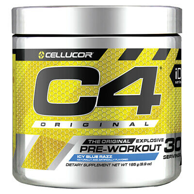 Cellucor C4 ID Blue Raspberry 30 Serve