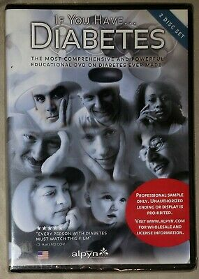 If You Have Diabetes: Comprehensive Guide For Life DVD 2-Disc Set New/Sealed