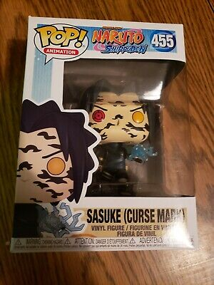 Funko Pop! Naruto Shippuden #455 Sasuke Curse Mark Limited Convention Exclusive