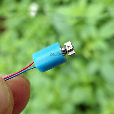 2x 4*8mm Coreless Vibration Motor DC 3V Vibrating Motor Mini Vibrator Cell Phone