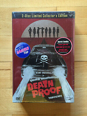Quentin Tarantino Death Proof Limited Collector´s Edition 2008 - 2 Dvd Set Neu!!