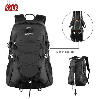 Outdoor Sport 17'' Laptop Backpack Military Tactical Rucksack Assault MOLLE Pack